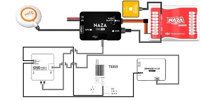 550 pilot's lounge page 36 dji phantom drone forum  naza osd wiring diagram