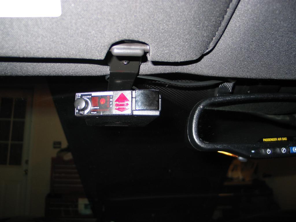Hard Wire V 1 Radar Detector In C6 Z06   Z06Vette.com   Corvette Z06 Forum